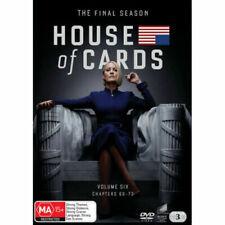 House Of Cards : Season 6 (DVD, 2019, 3-Disc Set)