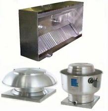Superior Hoods 6ft Etl Listed Hood System With Make Up Air Amp Exhaust Fans