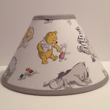 Winnie pooh lamp ebay winnie the pooh fabric nursery lamp shade aloadofball Gallery