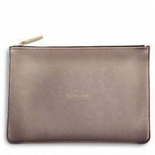 Katie Loxton - Be Brilliant Perfect Pouch - Rose Gold Clutch Bag with Gift Bag