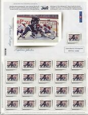 WINTER SPORT: WINNIPEG JETS HOCKEY TEAM ON CANADA 2011, 3 COMPLETE SHEETS, MNH