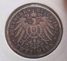 2 Mark Silbermünzen aus dem Deutschen Kaiserreich