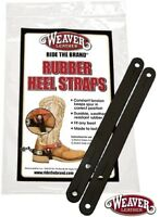 Heel Straps Rubber Spur Tie Downs Pair by Weaver Leather New Free Shipping