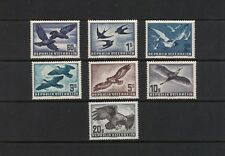 Austria 1950-1953. Air Mail Stamps. Complete Set (7). Perfect Mnh / Xf. Superb.