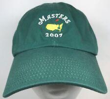 2007 Masters Golf Green Augusta Georgia Adjustable Dad Hat Ball Cap Golfing