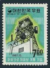Korea South 594,594a,MNH.Mi 604,Bl.270. Microwave communications network,1967.