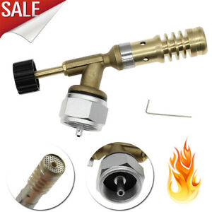 US High Temperature Brass Mapp Gas Torch Brazing Solder Propane Welding Plumbing
