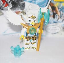 New LEGO Legends of CHIMA Eris original Eagle Tribe w/ Golden armor, Axe & Chi
