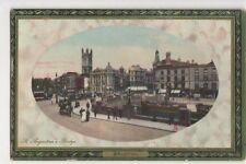 Bristol, St. Augustines Bridge, Grosvenor Series Postcard, B143