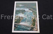 R166 Poster vintage photographie chutes du Niagara canada USA Rossignol 76*56 cm