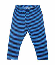 Oshkosh Printed Fitted Leggings for Baby Girl Blue Stripe  Size 24months