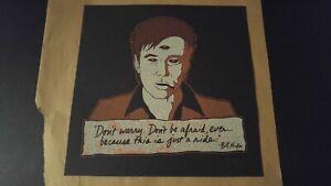 BILL HICKS 'Teacher' TEST Black Mini Print Jermaine Rogers Poster 'Just a Ride'