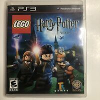 Lego Harry Potter Years 1-4 - Complete PlayStation 3 PS3 Game Tested