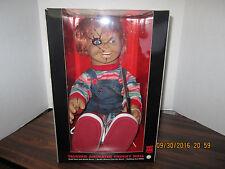 "Bride of Chucky Memorabilia: 2015 24"" Animated Talking Chucky Doll Halloween NEW"