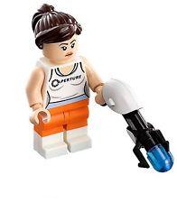 LEGO® Portal™  Chell Minifig - With Portal Gun