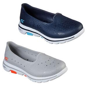 Skechers Womens Summer Shoes Cali Gear GoWalk 5 Lightweight EVA Walking Trainers