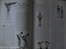 Tom Inch Weightlifting Bruce Lowe Horseracing Bloodstock Golf Rare Article 1907