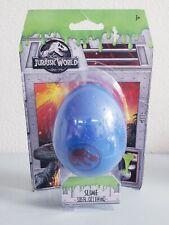 Jurassic World Velociraptor Slime Egg 3.85 Fl. Oz Brand New Sealed Free S&H
