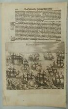 de Bry Theodore 1655. Peru. Two engravings on one page