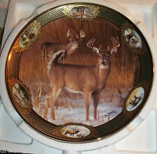 Franklin Mint 10 Point Buck 8 Inch Collector Plate Don Kloetzke Heirloom New!