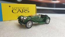 SOLIDO MODELS / HATCHETTE - JAGUAR SS100 - 1/43 SCALE MODEL CENTURY OF CARS