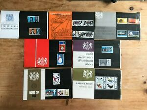 QEII 1966 YEAR SET of 7 PRESENTATION PACKS  IN MINT CONDITION