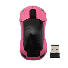 Wireless Mouse Racing Car Shaped 2.4GHz Optical Gaming Mice With USB Receiver HQ