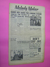 MELODY MAKER. FEB 18th 1950. JAZZ & SWING etc. MUSIC MAGAZINE. VINTAGE MAG