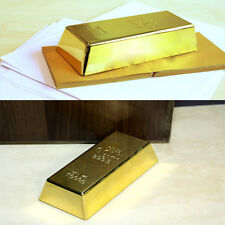 Door Stop Heavy Brick Paperweight 1kg Creative Gold Bar Bullion Hot sale