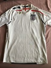 England Football Shirt 2007-2009 Umbro XL Boys (158cm)