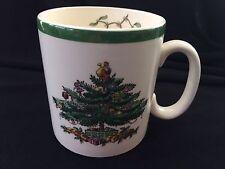 Vintage Spode Small Coffee Mug Cup Christmas Tree Design England S3324-C