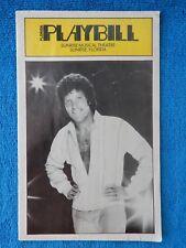 Tom Jones - Sunrise Musical Theatre Playbill - Opening Night - Feb. 26th, 1979