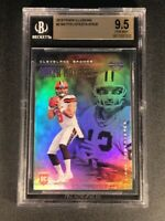 BAKER MAYFIELD 2019 PANINI ILLUSIONS #2 REFRACTOR LIKE ROOKIE RC BGS 9.5 BROWNS