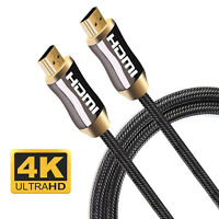 PREMIUM QUALITY V2.0 HDMI Cable Ultra HD TV 2160p 4K ARC 3m 5m 10m 15m Long Lot