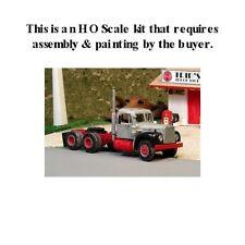 HO SCALE: 1955-66 MACK B-75 w/L CAB - TANDEM-AXLE w/DAY CAB - Sylvan Kit V-221
