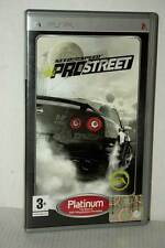 NEED FOR SPEED PRO STREET NUOVO SONY PSP EDIZIONE ITALIANA PLATINUM VBC 51526