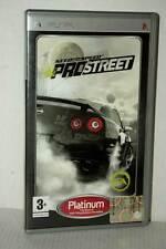 NEED FOR SPEED PRO STREET USATO BUONO SONY PSP ED ITALIANA PLATINUM AO1 48009
