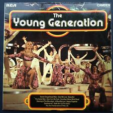 THE YOUNG GENERATION TV Soundtrack OST LP [1974 Pop] Lesley Judd Douglas Squires