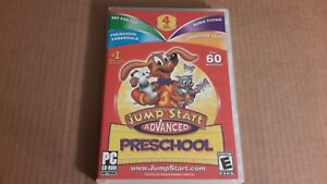 Jump Start CD-ROM Windows, over 60 act. - Advanced Preschool, pc cd rom, rated E
