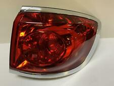 2009 Enclave Passenger Right Quarter Mounted Tail Light Lamp Scratched Chrome