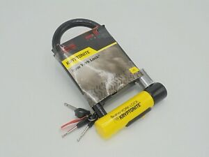 Kryptonite New York Standard Lock & Flexframe Bracket - 9/10 Sold Secure Gold