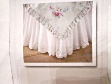 Simply Shabby Chic Bedskirt Pink Ruffled Twin Full Cal King NEW