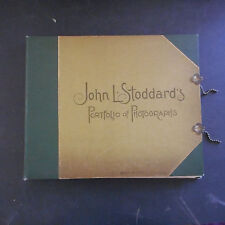 John L Stoddard Portfolio of Photos of Famous scenes,cities,paintings 1894?