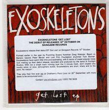 (GN657) Exoskeletons, Get Lost - 2015 DJ CD