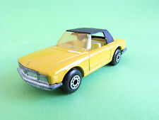 Matchbox Lesney Superfast No 6 Mercedes 350Sl 1973 Yellow