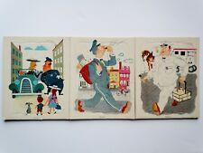 Three Vintage Golden Press Playskool Puzzles