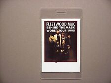 Fleetwood Mac backstage pass Laminated Behind the Mask 1990