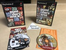 Grand Theft Auto: San Andreas w/ GTA III Bundle! (Sony PlayStation 2, 2004)