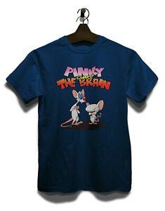 Pinky And The Brain T-Shirt Serie Geek Funshirt Nerd Kult Weltherrschaft Comic