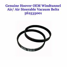 Genuine Hoover OEM Wind Tunnel Air/Air Steerable Vacuum Belts UH70400- 2 Belts